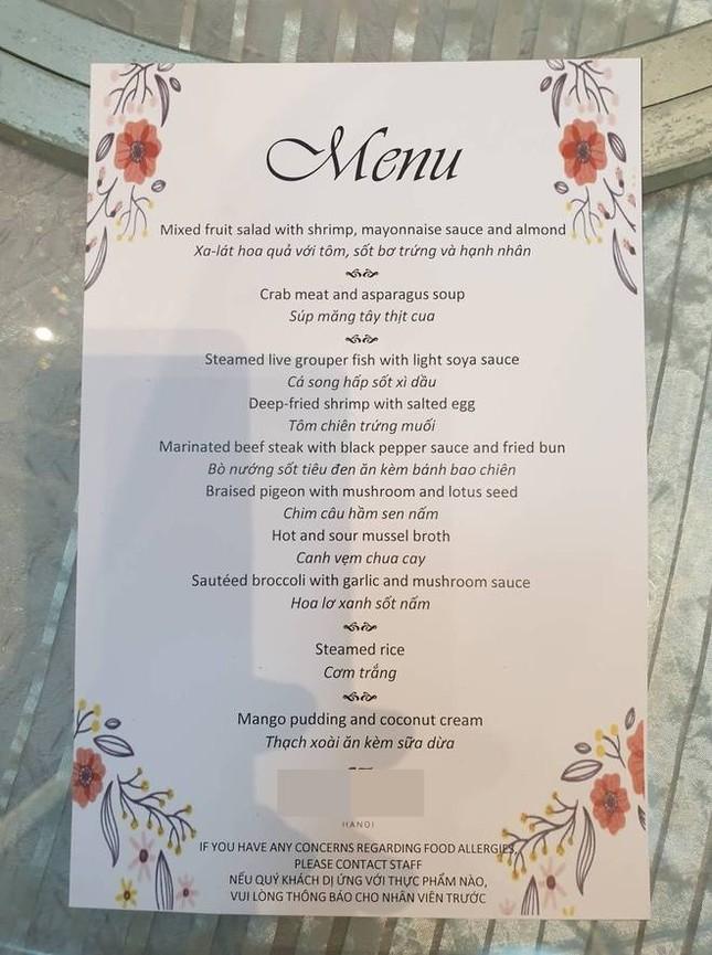 2 thực đơn đám cưới gây chú ý của hotboy đội tuyển Việt Nam Duy Mạnh ảnh 5