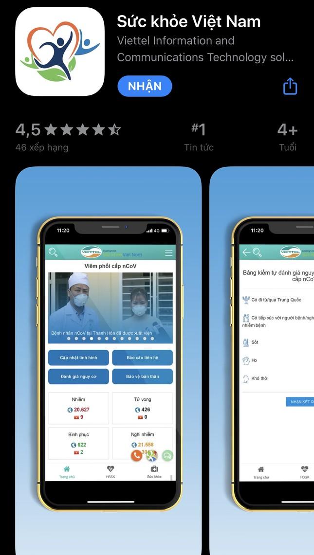 Đây là ứng dụng giúp cập nhật chính xác tình hình dịch virus corona ở Việt Nam ảnh 1