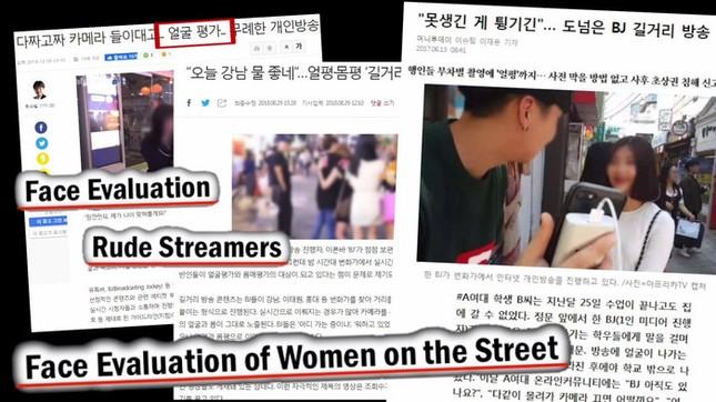 Nếu đến Hàn Quốc mà bị streamer chặn đường, hãy nhanh bỏ đi nếu không muốn là nạn nhân kế tiếp ảnh 2