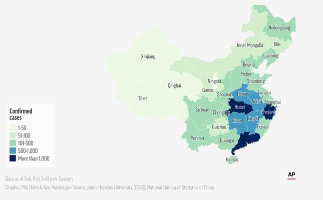 5 triệu người Vũ Hán đã đi đâu trước lệnh phong tỏa? ảnh 2