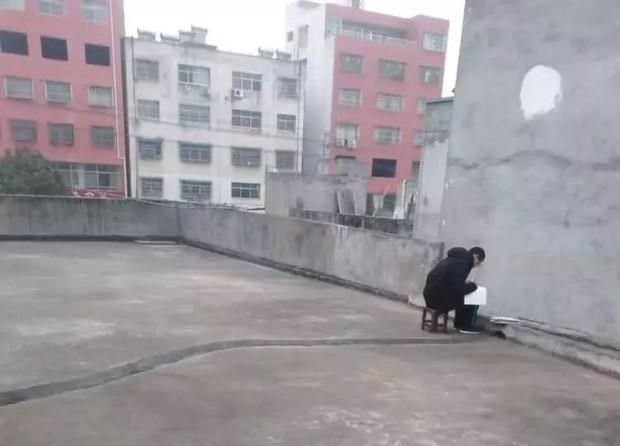 Lên sân thượng ké Wi-Fi hàng xóm để học bài giữa dịch cúm corona ảnh 1