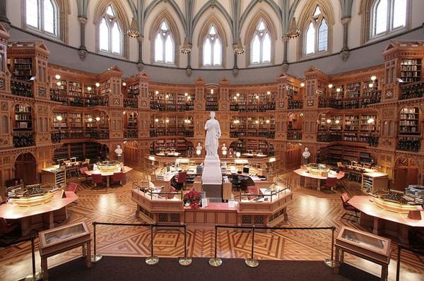 Mời bạn chiêm ngưỡng 6 toà thư viện đẹp và hiện đại nhất thế giới! ảnh 1
