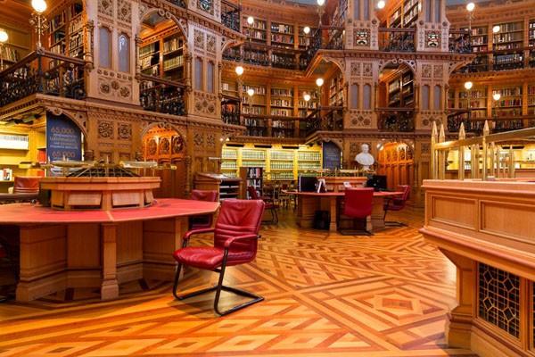 Mời bạn chiêm ngưỡng 6 toà thư viện đẹp và hiện đại nhất thế giới! ảnh 2