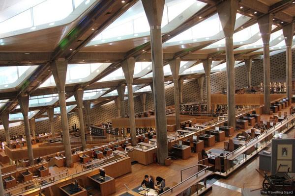 Mời bạn chiêm ngưỡng 6 toà thư viện đẹp và hiện đại nhất thế giới! ảnh 8