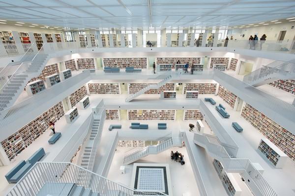Mời bạn chiêm ngưỡng 6 toà thư viện đẹp và hiện đại nhất thế giới! ảnh 10