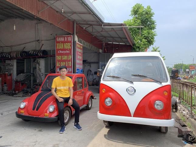 Gặp gỡ Ngô Việt Cường - cậu bạn 17 tuổi chế tạo ô tô năng lượng Mặt Trời! ảnh 2