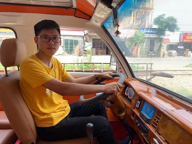 Gặp gỡ Ngô Việt Cường - cậu bạn 17 tuổi chế tạo ô tô năng lượng Mặt Trời! ảnh 3