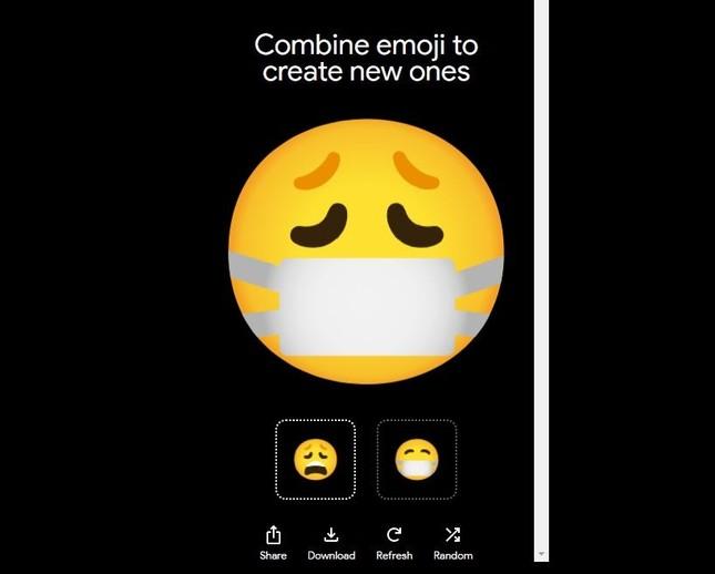 """Google giới thiệu """"Emoji Kitchen"""", biến tấu Emoji tình yêu theo cách của chính bạn ảnh 2"""