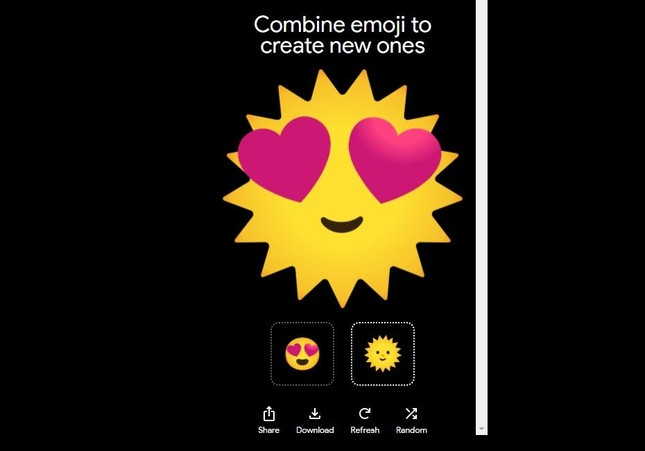 """Google giới thiệu """"Emoji Kitchen"""", biến tấu Emoji tình yêu theo cách của chính bạn ảnh 1"""