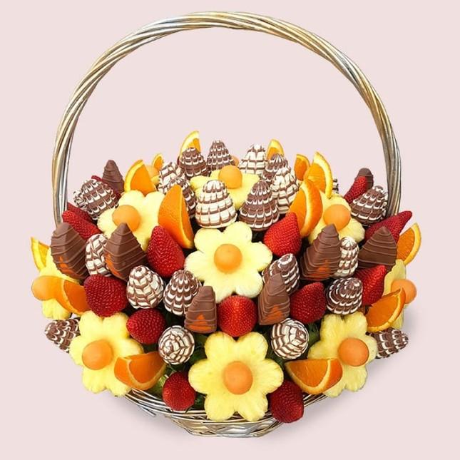 Sườn nướng và những bó hoa độc đáo làm từ đồ ăn cho dịp Valentine ảnh 4