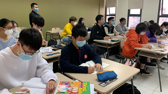 Bộ Y tế: Học sinh không cần đeo khẩu trang khi ở trường ảnh 1