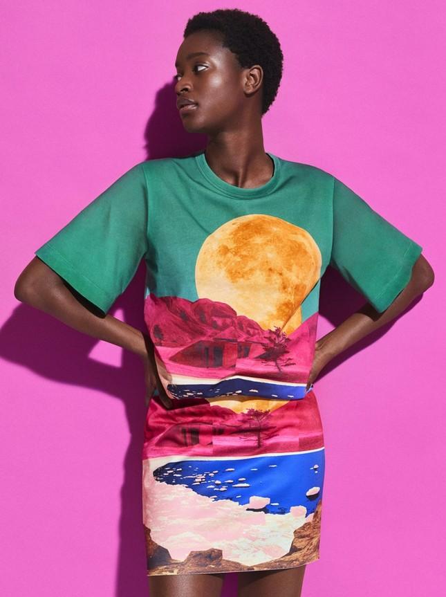 H&M chính thức ra mắt BST Xuân Hè 2020 với phong cách màu sắc siêu rực rỡ  ảnh 3
