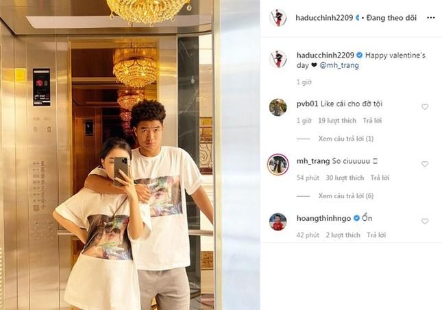 Đức Chinh, Văn Thanh khoe ảnh ngọt ngào bên bạn gái trong Valentine ảnh 2
