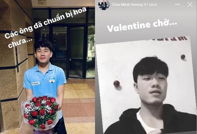Đức Chinh, Văn Thanh khoe ảnh ngọt ngào bên bạn gái trong Valentine ảnh 7