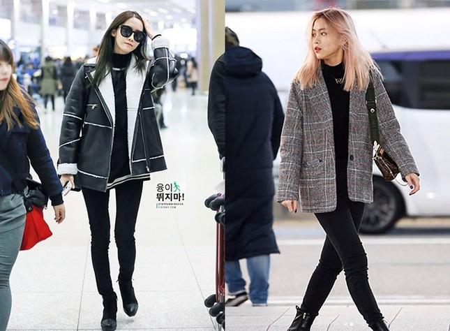 Ngoài Rosé, nhiều idol Hàn khác như Yoona, Ryu Jin cũng bị tố cáo chân cong vì mê kiểu quần đã lỗi mốt này.