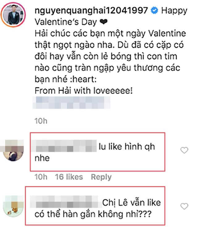 """Đang lục đục với tình mới, Nhật Lê công khai """"thả tim"""" hình ảnh của Quang Hải đúng ngày Valentine ảnh 5"""