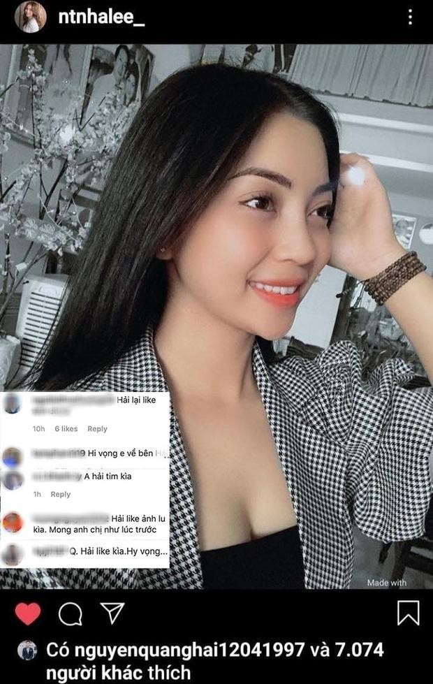 """Đang lục đục với tình mới, Nhật Lê công khai """"thả tim"""" hình ảnh của Quang Hải đúng ngày Valentine ảnh 7"""