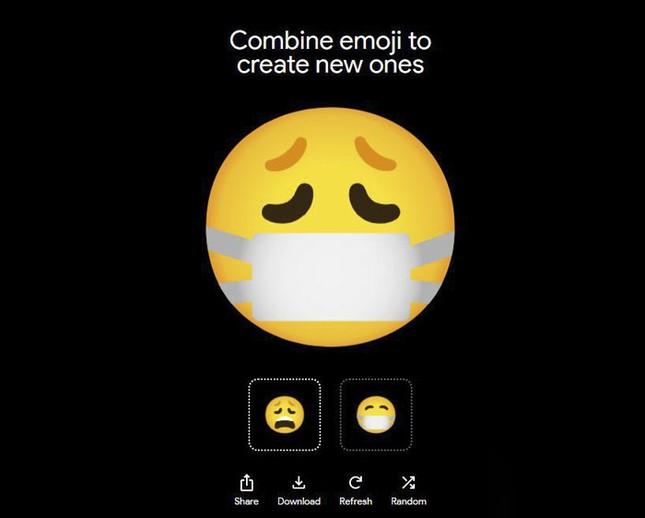 """Google ra mắt """"Emoji Kitchen"""", công cụ cho phép người dùng tự chế emoji ảnh 2"""