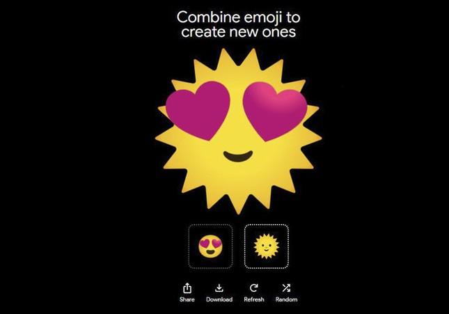"""Google ra mắt """"Emoji Kitchen"""", công cụ cho phép người dùng tự chế emoji ảnh 3"""