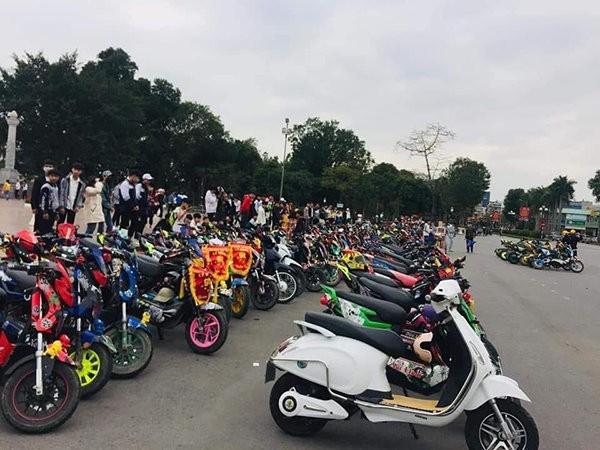 """Xác minh xử lý nhóm học sinh Nam Định tổ chức """"off"""" hội xe điện dịp nghỉ học phòng COVID-19 ảnh 1"""