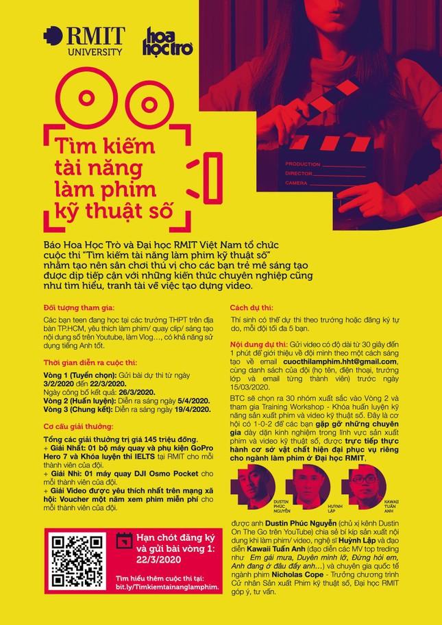 Bạn đã sẵn sàng tham gia lớp học miễn phí của Huỳnh Lập, Kawaii Tuấn Anh và Dustin Phúc Nguyễn? ảnh 2