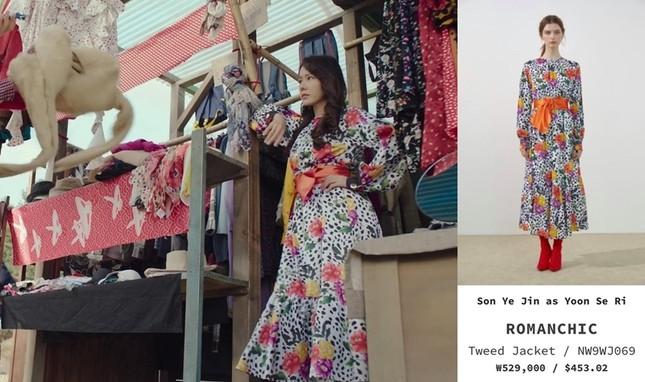 Thời trang đỉnh cao của Yoon SeRi - con gái tài phiệt kiêm Tổng Giám Đốc trong HCNA ảnh 2