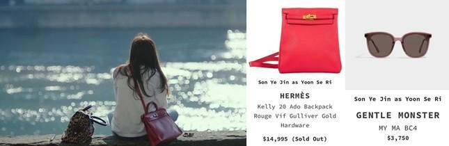 Thời trang đỉnh cao của Yoon SeRi - con gái tài phiệt kiêm Tổng Giám Đốc trong HCNA ảnh 12