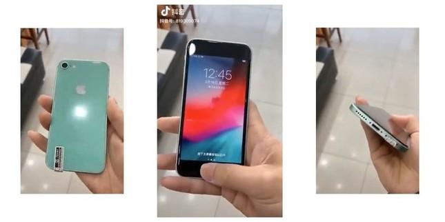 """Nóng: iPhone 9/ iPhone SE 2 lần đầu lộ diện """"bằng xương bằng thịt"""" ảnh 1"""