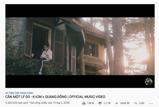 """MV """"Cần một lí do"""" của K-ICM xếp hàng đầu thế giới ở một tiêu chí không ai muốn ảnh 1"""