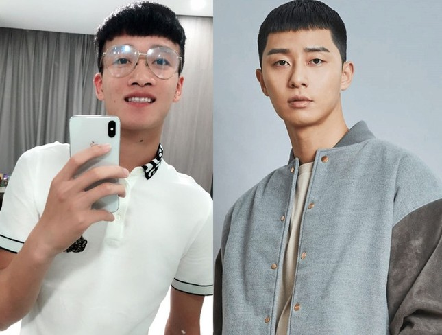 """Dân mạng bắt trend tóc ngố tàu của Park Seo Joon trong """"Itaewon Class"""" ảnh 2"""