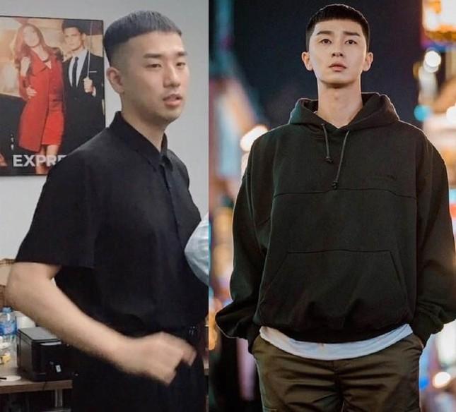 """Dân mạng bắt trend tóc ngố tàu của Park Seo Joon trong """"Itaewon Class"""" ảnh 9"""