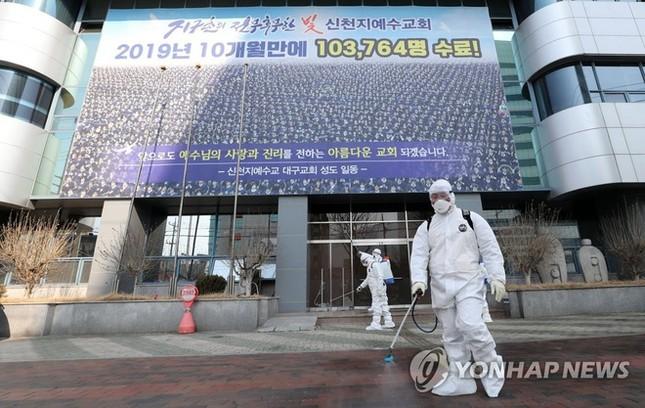 Người Hàn ồ ạt mua khẩu trang, siêu thị cháy hàng trong tâm dịch ảnh 5