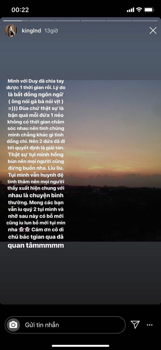 Hot streamer Linh Ngọc Đàm thông báo chia tay, kết thúc chuyện tình đẹp với người yêu điển trai ảnh 3
