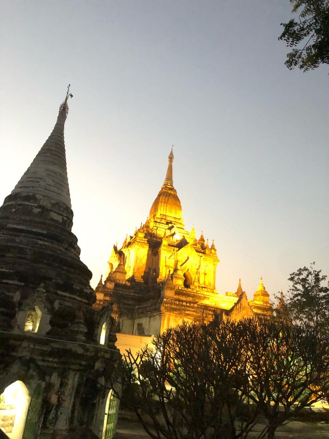 Bagan - Lạc vào mê cung của hàng nghìn đền đài tuyệt mĩ (Kỳ 2) ảnh 8