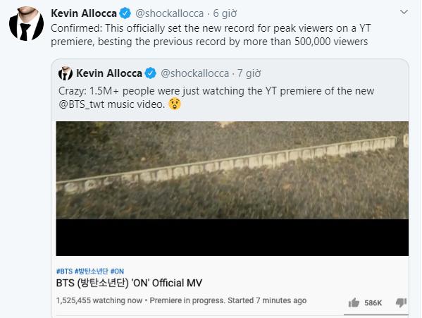 """Vừa ra mắt MV """"ON"""", BTS đã nhanh chóng """"bỏ túi"""" hai kỷ lục thế giới mới ảnh 2"""