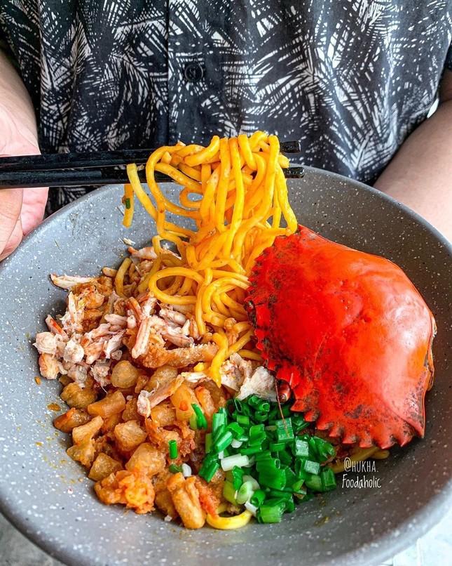 Thưởng thức spaghetti mai cua và 5 món ngon làm từ cua tại TP.HCM ảnh 14