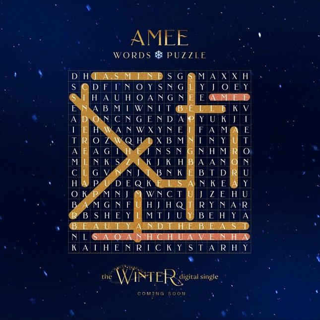 """""""Công chúa mùa đông"""" AMEE tái xuất, sẵn sàng gặp fan với dự án mới ảnh 4"""