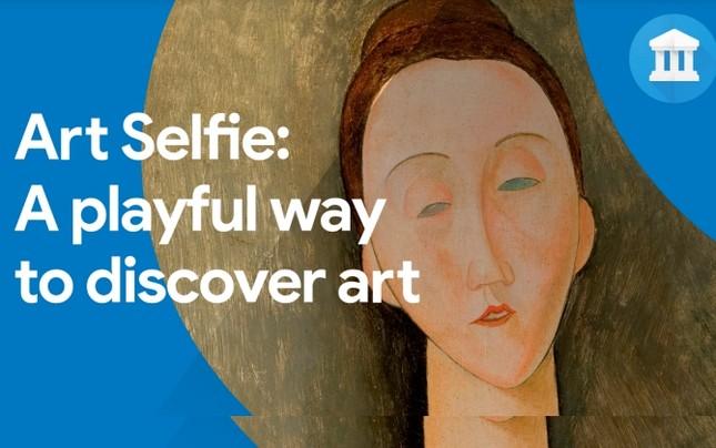 Art Selfie: Ứng dụng so sánh khuôn mặt bạn với các tác phẩm nghệ thuật