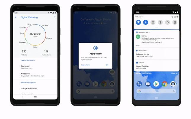 Android 9 Pie: trí tuệ nhân tạo thúc đẩy trải nghiệm đơn giản và thông minh