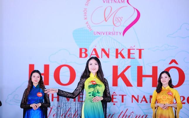 Lộ diện 15 thí sinh lọt vào Chung kết cuộc thi Hoa khôi Sinh viên