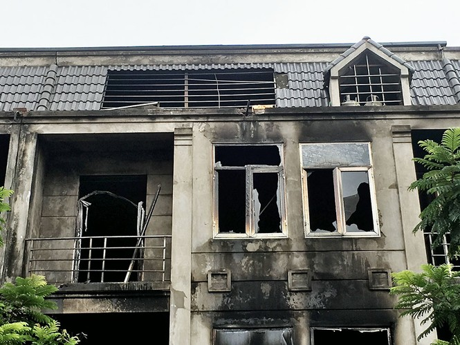 Dãy nhà tan hoang ở Thiên đường Bảo Sơn sau vụ cháy khủng khiếp - ảnh 14