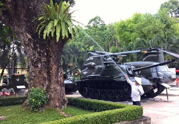 Cận cảnh Bảo tàng chứng tích chiến tranh được tu sửa - ảnh 3