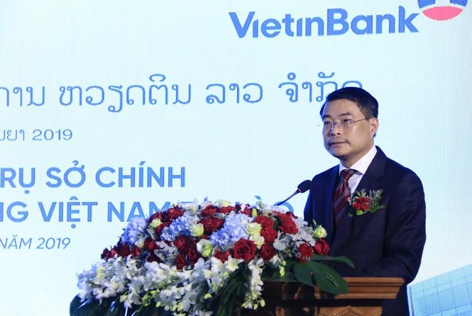 Lễ khai trương Tòa nhà Trụ sở chính VietinBank Lào. - ảnh 3