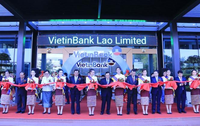 Lễ khai trương Tòa nhà Trụ sở chính VietinBank Lào. - ảnh 4