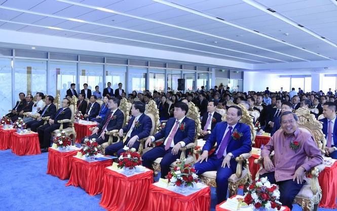 Lễ khai trương Tòa nhà Trụ sở chính VietinBank Lào. - ảnh 2