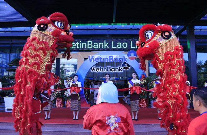 Lễ khai trương Tòa nhà Trụ sở chính VietinBank Lào. - ảnh 5