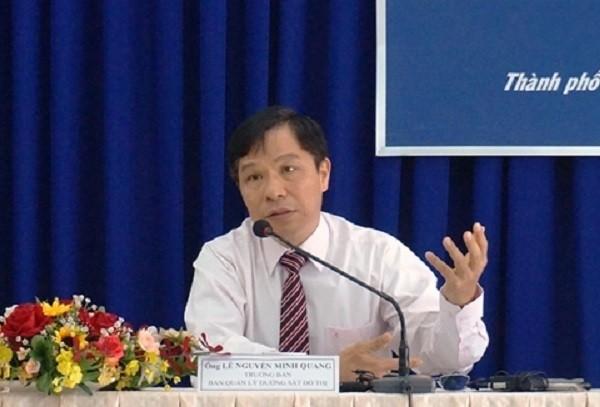 Ông Lê Nguyễn Minh Quang đã được cho thôi việc - ảnh 2