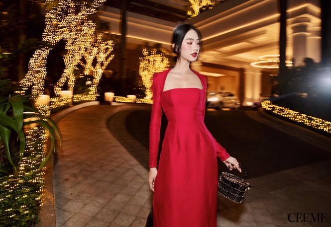 Dàn người đẹp Hoa hậu Việt Nam 2020: Nhan sắc ngày càng thăng hạng, rạng ngời đón Noel - ảnh 4