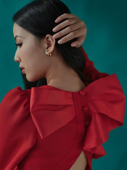 Dàn người đẹp Hoa hậu Việt Nam 2020: Nhan sắc ngày càng thăng hạng, rạng ngời đón Noel - ảnh 8