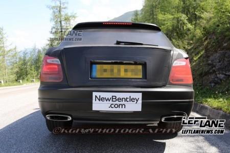 Lộ SUV siêu sang của Bentley trên đường thử - ảnh 10